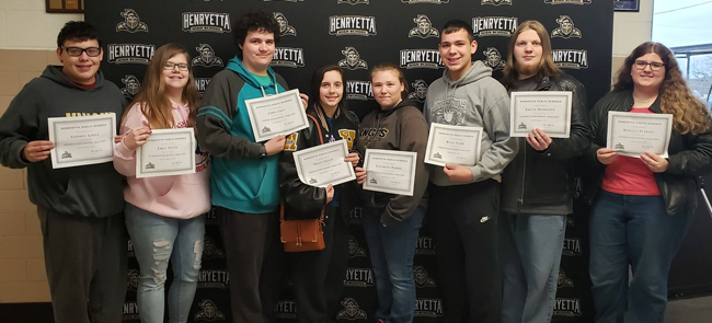 hhs students of month